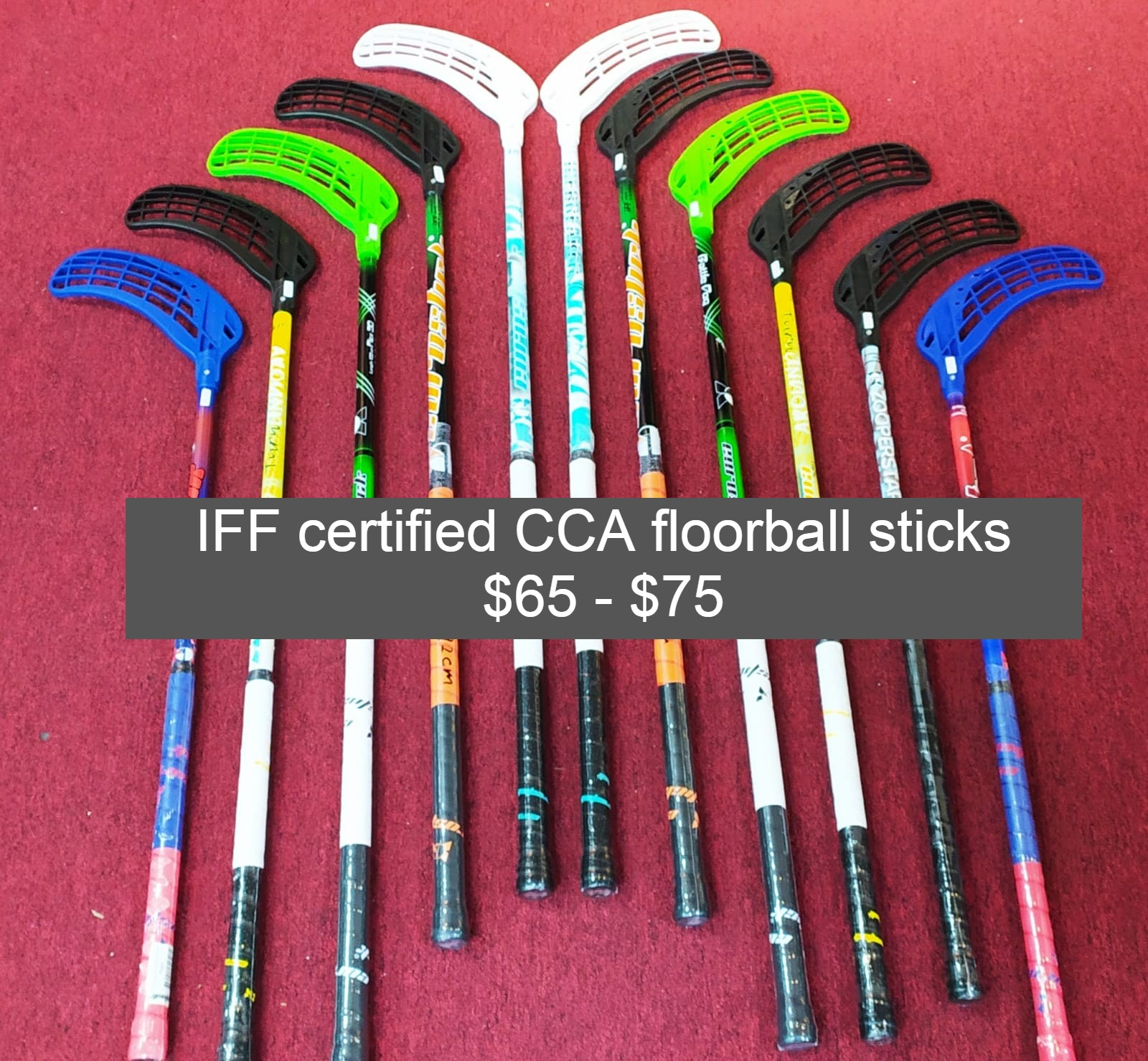 Iff certified cca floorball sticks